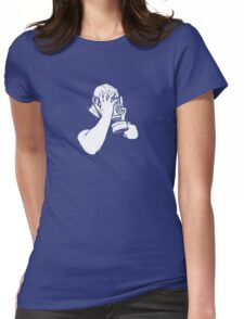 It's All Too Much (Sometimes) Womens Fitted T-Shirt