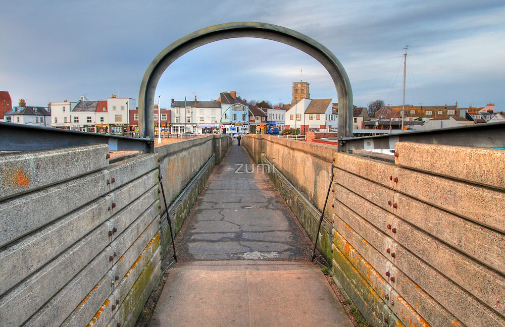 Bridge over Adur I by zumi