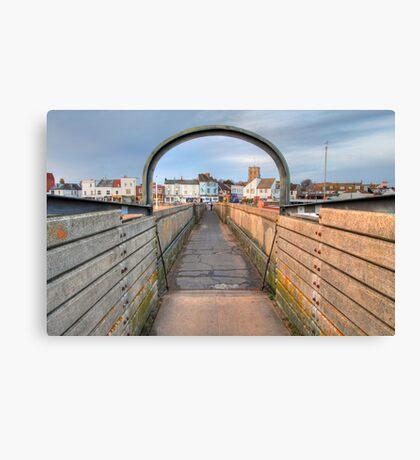 Bridge over Adur I Canvas Print