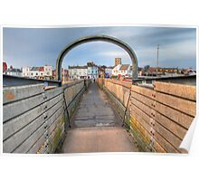 Bridge over Adur I Poster