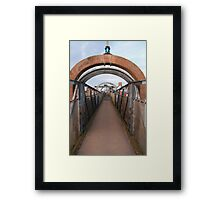 Bridge over Adur II Framed Print