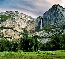 Upper Yosemite Falls II by Phillip M. Burrow