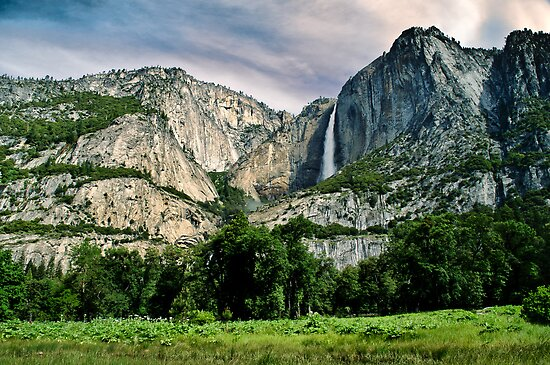Upper Yosemite Falls II by Phillip M. Burrow
