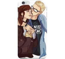 Ashley + Chris iPhone Case/Skin