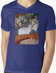 Luncheon Party Mens V-Neck T-Shirt