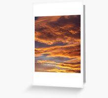 tucson sky Greeting Card