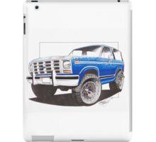 86 Ford Bronco  iPad Case/Skin
