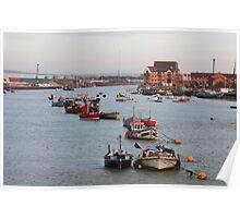 Shoreham harbour Poster