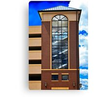 Tower and the Sky Canvas Print