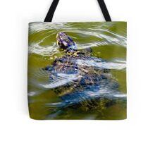 Pond turtle Tote Bag