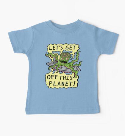 Alien UFO Escape Baby Tee
