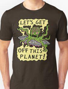 Alien UFO Escape T-Shirt
