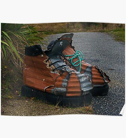 These Boots are made for Walkin' Poster