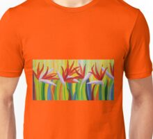 Colorful birds of paradise  Unisex T-Shirt