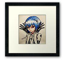 Ayanami Rei Framed Print