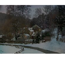 Winter Scene Photographic Print