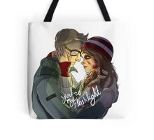 Ashley + Chris - You're My Flashlight Tote Bag