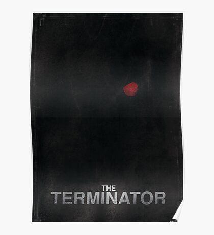 """The Terminator"" - minimalist movie poster design Poster"