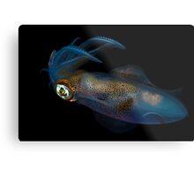 Southern Calamari Squid Metal Print