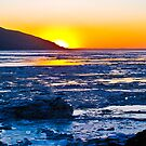 Turnagain Arm Afternoon Sunset by Bob Moore