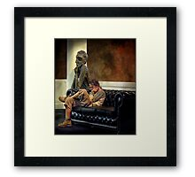 thinkers Framed Print
