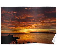 Tuggerah Lakes Sunrise. 2 Poster