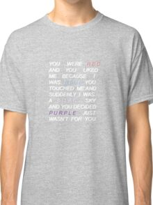 Halsey- 'Colors' quote  Classic T-Shirt
