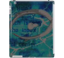 Halo Background iPad Case/Skin