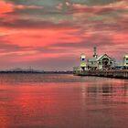 Summer Nights, Geelong Waterfront by Danka Dear