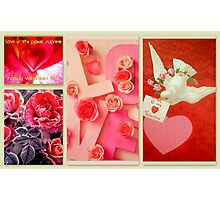 Valentine Collection featured in Collective Collage, Inspired Art & Holidays & Special Occasions Photographic Print