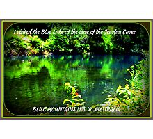 SECLUDED  BILLABONG Photographic Print