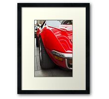 Red and sexy Framed Print
