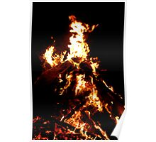 Within the flames Poster