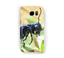 Black Insect Samsung Galaxy Case/Skin