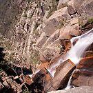 Crystal Brook Falls by John Vandeven
