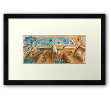 By Land, By Sea, By Air Framed Print