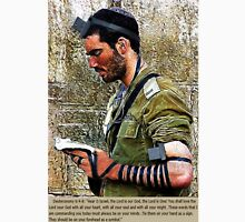 ✌ TEFILLIN SOLDIER @ THE WESTERN WALL(WAILING WALL)✌  Unisex T-Shirt