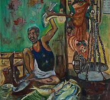 Durgadas the fish seller by dipti9