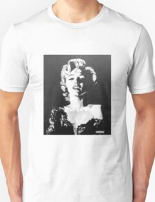 Marilyn Monroe in Graphite Pencil T-Shirt