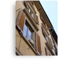 Italian Apartments Canvas Print