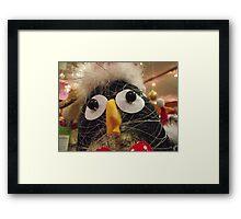 Funky penguin Framed Print