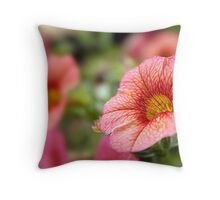 In love with flowers... Throw Pillow