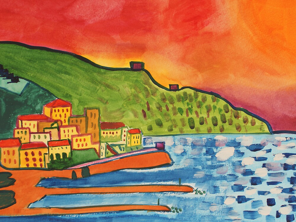 View of Amalfi by Marian Way