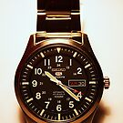 Seiko 5 Sports Automatic 23 Jewels 100M Military Watch by Raoul Isidro