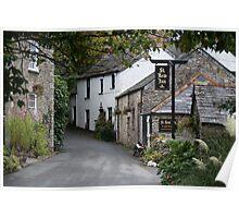 St Kew, Cornwall, UK Poster