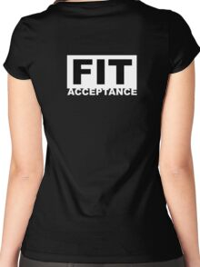 FIT Acceptance  Women's Fitted Scoop T-Shirt