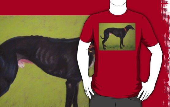 Black Greyhound by Hilary Robinson
