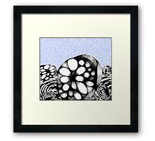 Billy Boulder Riverscape Framed Print