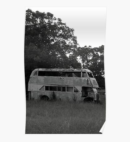 broken bus Poster