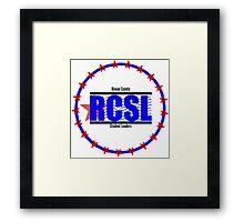 Rowan County Student Leaders Logo - Product Branding Framed Print